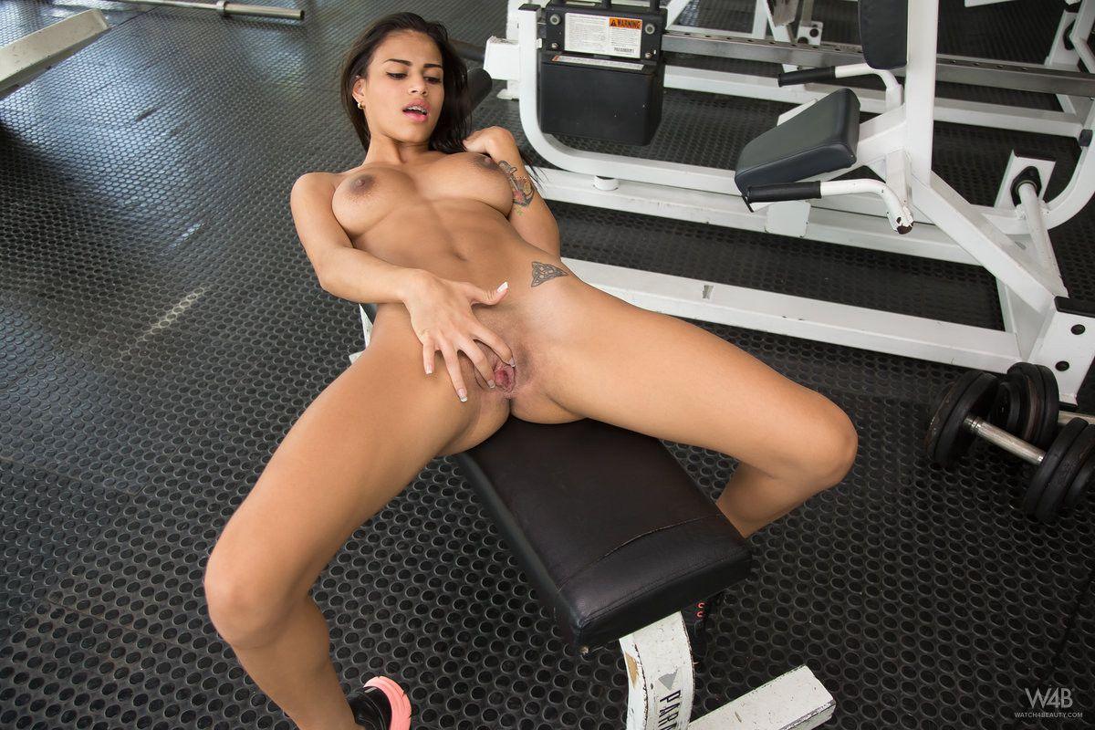Free porn solo sports fitness masturbation