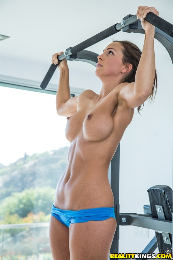 Naked action girl susana spears in sexy workout
