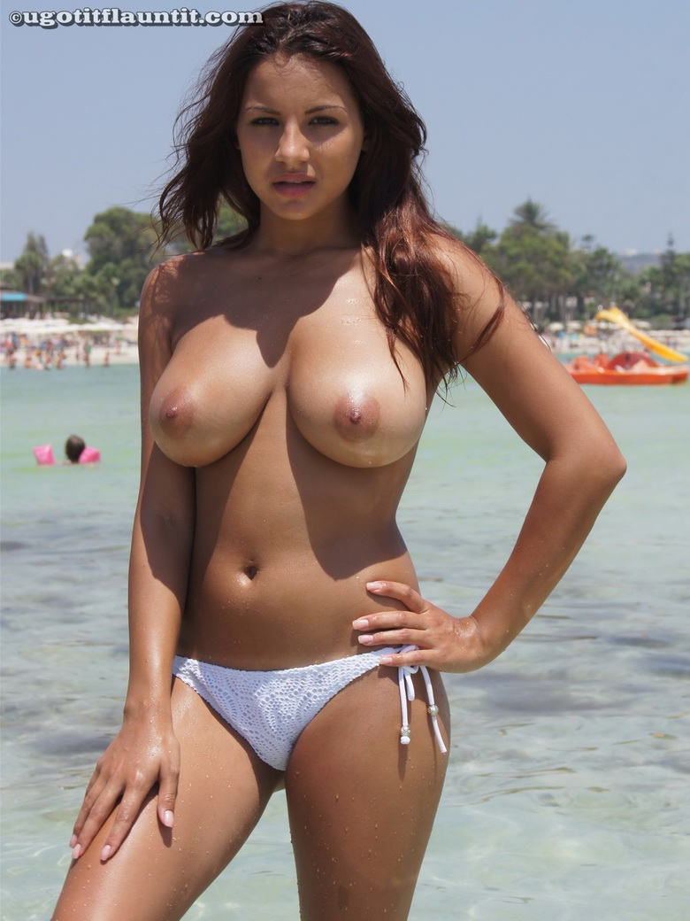 Bikini Topless Beach